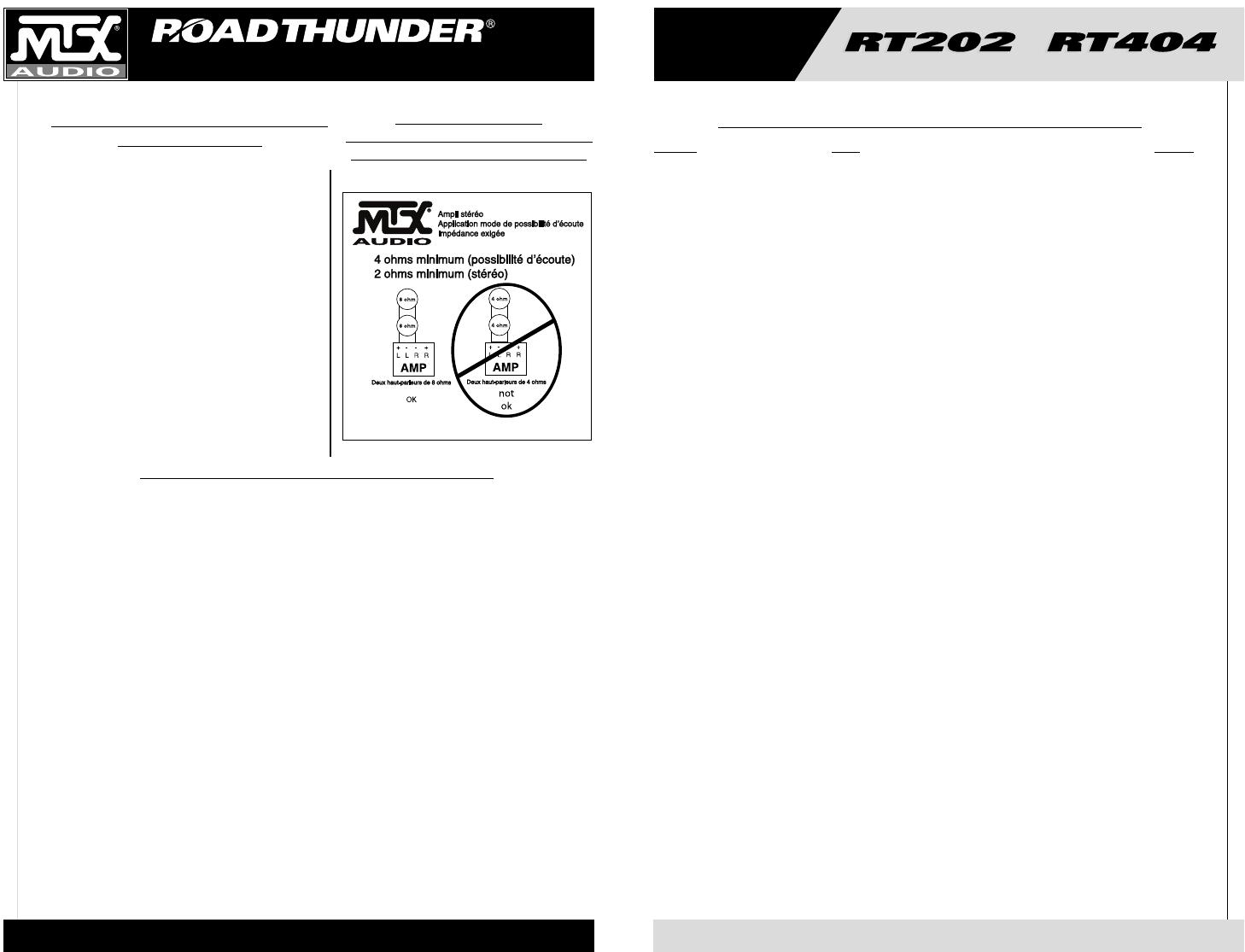 Handleiding Mtx Rt202 Rt404 Pagina 13 Van 19 English Amp Wiring Diagram