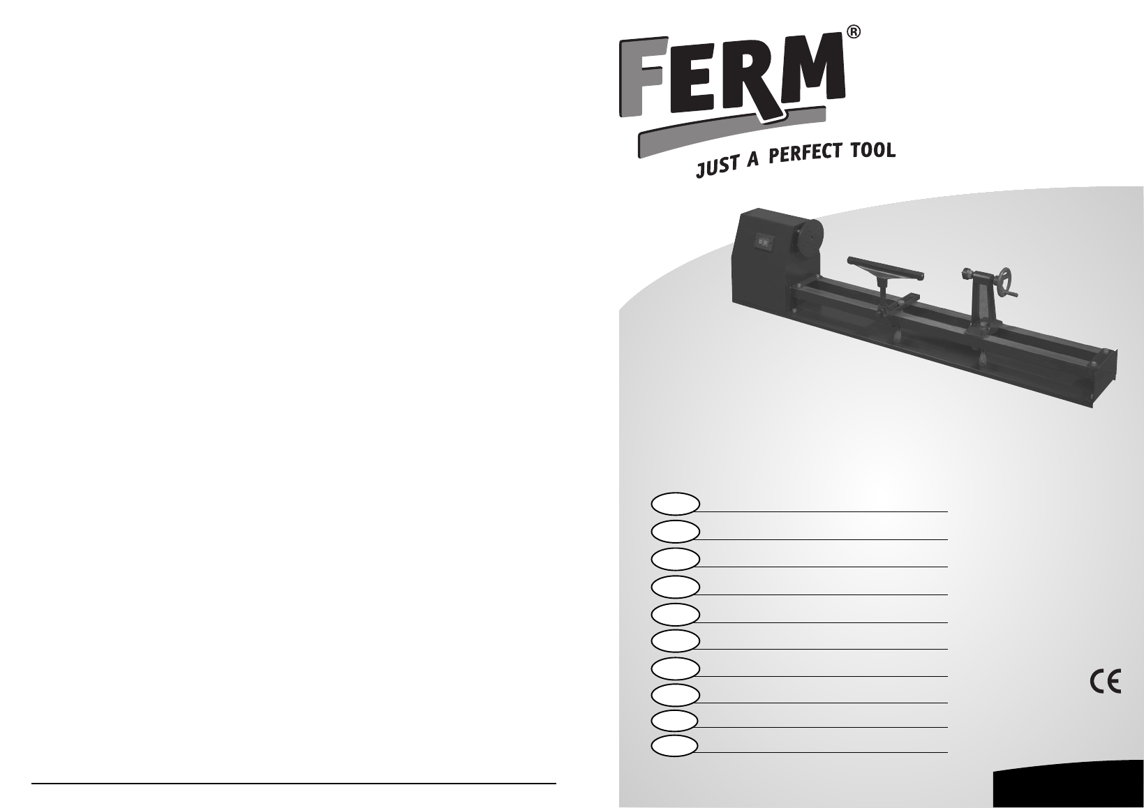 инструкция на станок ferm