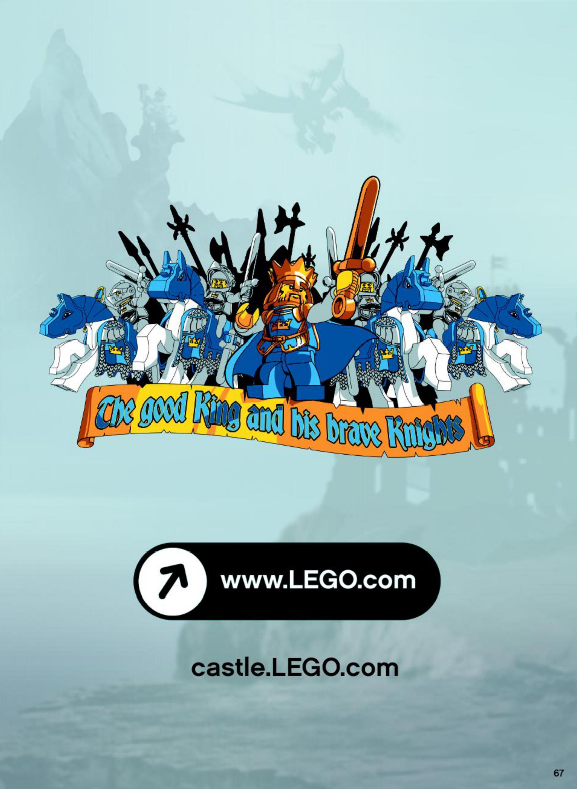 Handleiding Lego Castle Skeleton Tower 7093 Pagina 63 Van 76 Verder