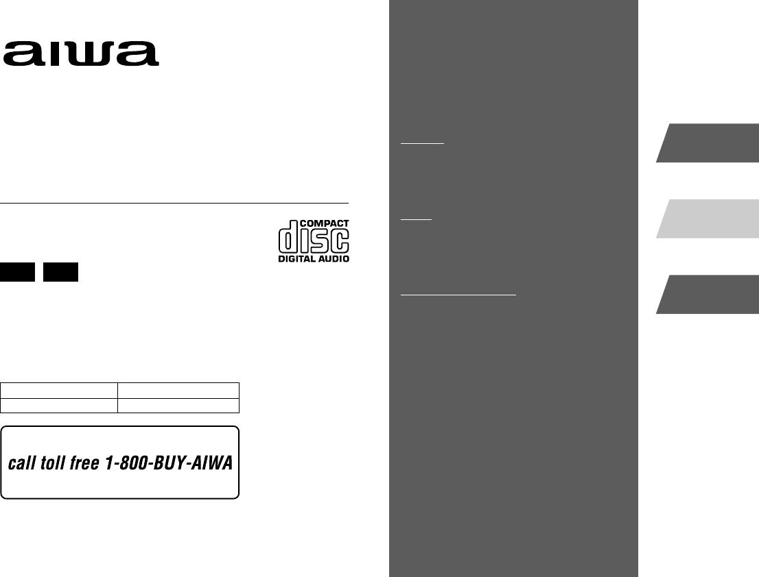 Handleiding Aiwa Xr Em50 Pagina 1 Van 20 English Radio Wiring Diagram
