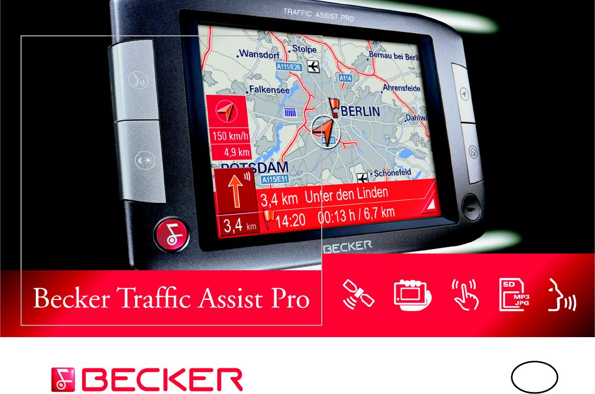 mappe becker traffic assist pro 7916