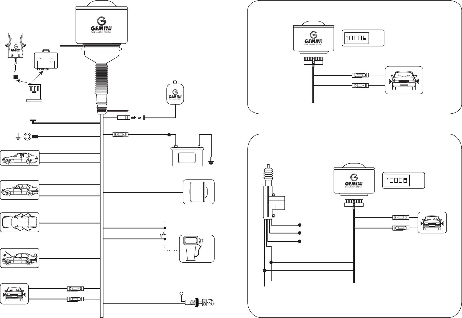 Gemini Car Alarm Wiring Diagram   40 Tundra Wiring Diagram for ...