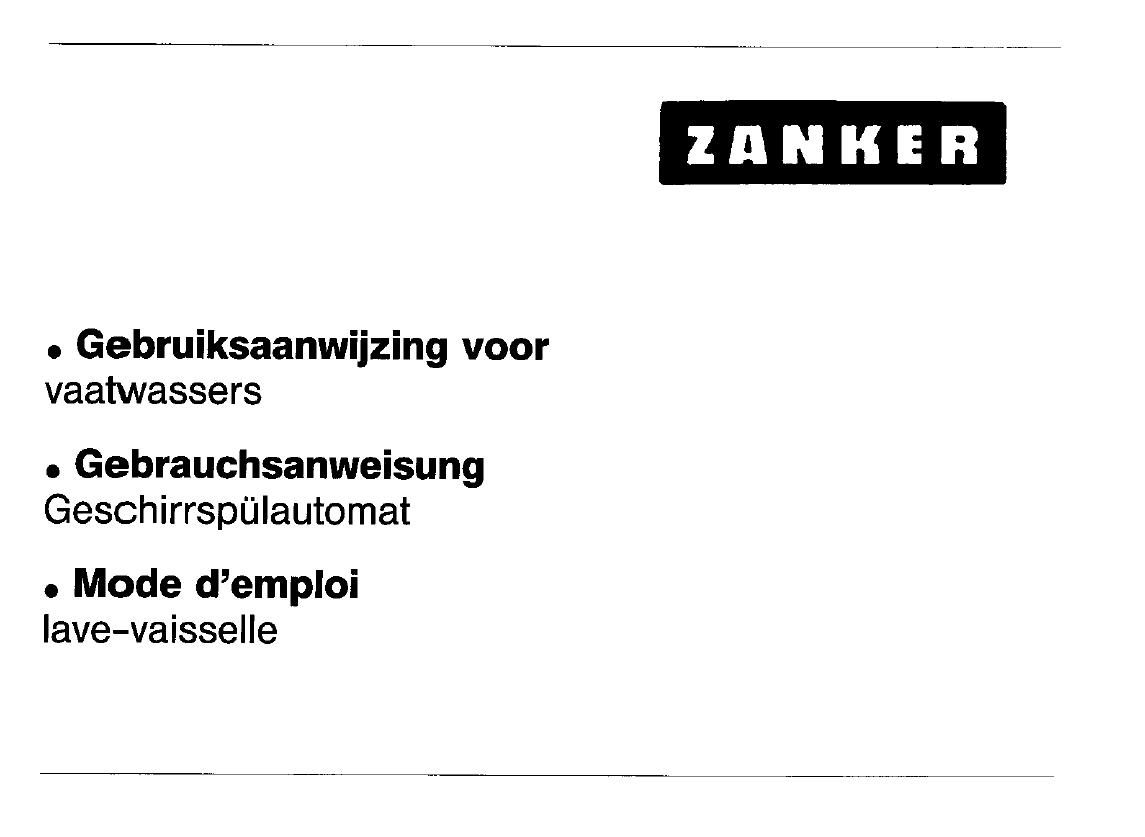 handleiding zanker gw 3511 pagina 1 van 17 nederlands. Black Bedroom Furniture Sets. Home Design Ideas