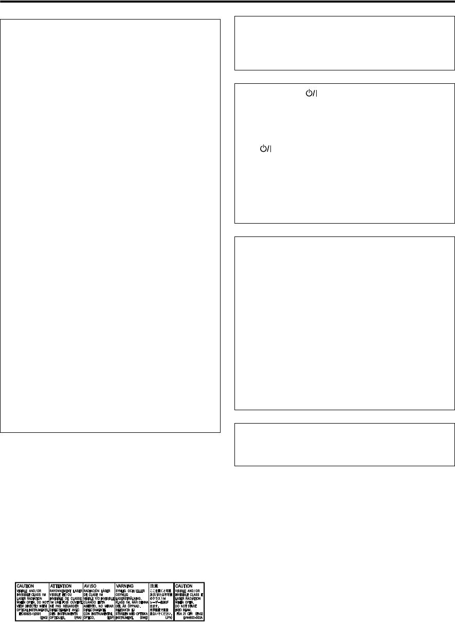 Handleiding JVC TH-U1 (pagina 1 van 44) (English)