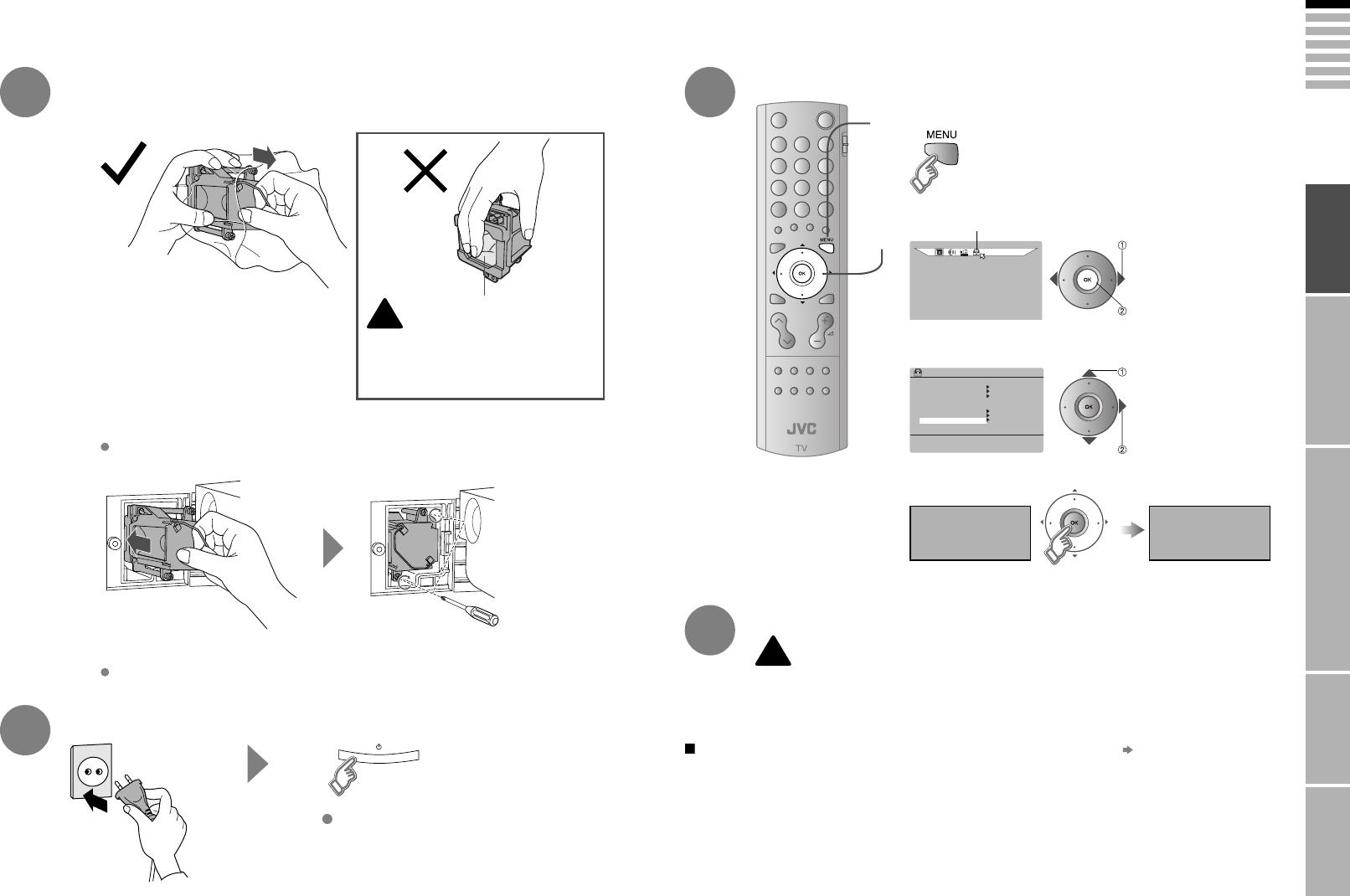 Handleiding JVC HD-70ZR7 (pagina 7 van 26) (English)