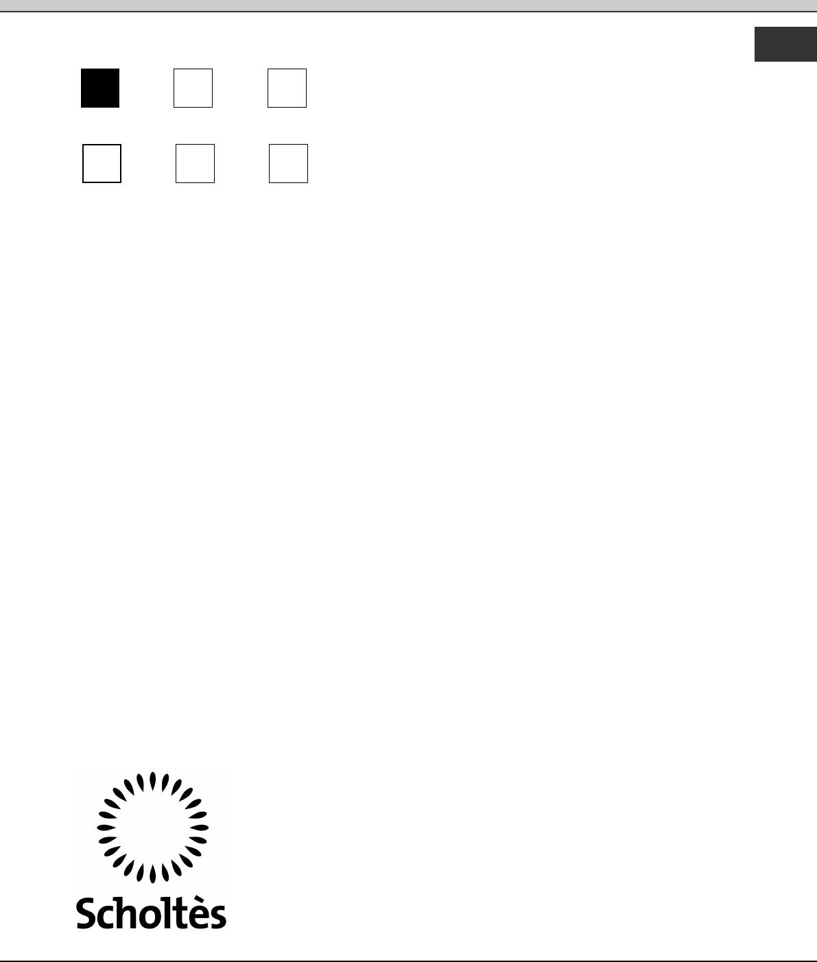 Dcdr Home: Handleiding Scholtes Pmg 41 Dcdr (pagina 1 Van 72