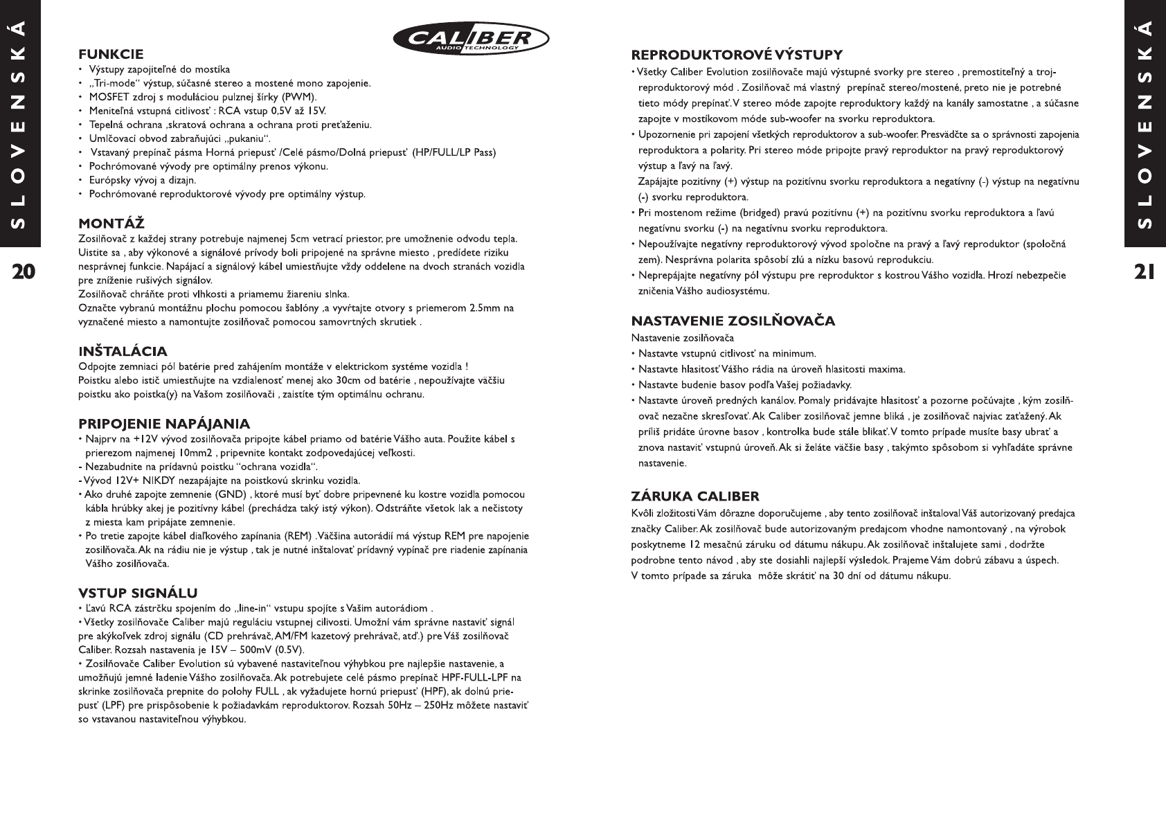 Handleiding Caliber ca 2150 evolution (pagina 12 van 14) (Deutsch ...