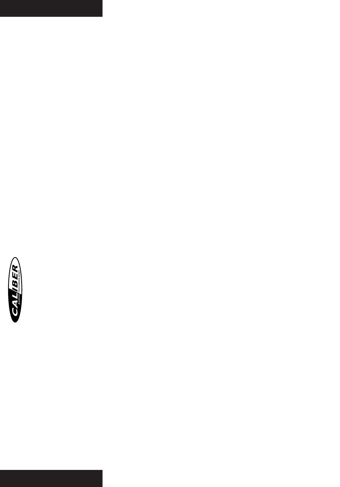 Handleiding Caliber ca 2360 rally (pagina 2 van 12) (Deutsch ...