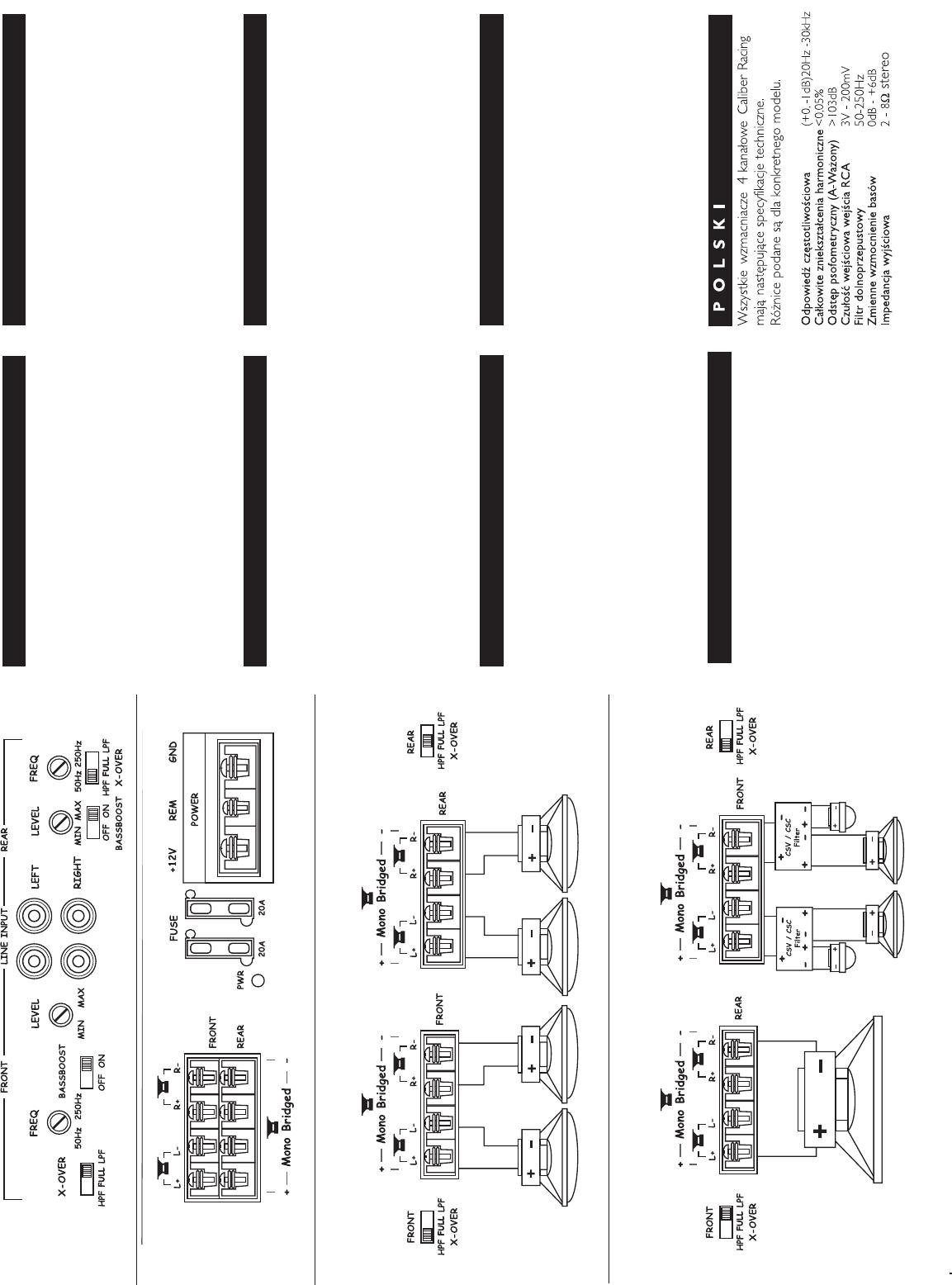 Handleiding Caliber ca 504 n (pagina 2 van 12) (Deutsch, English ...