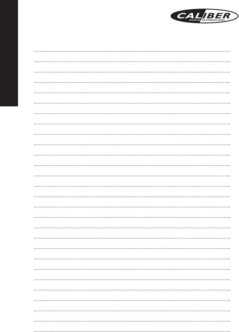 Handleiding Caliber ca 1252b (pagina 13 van 13) (Deutsch, English ...