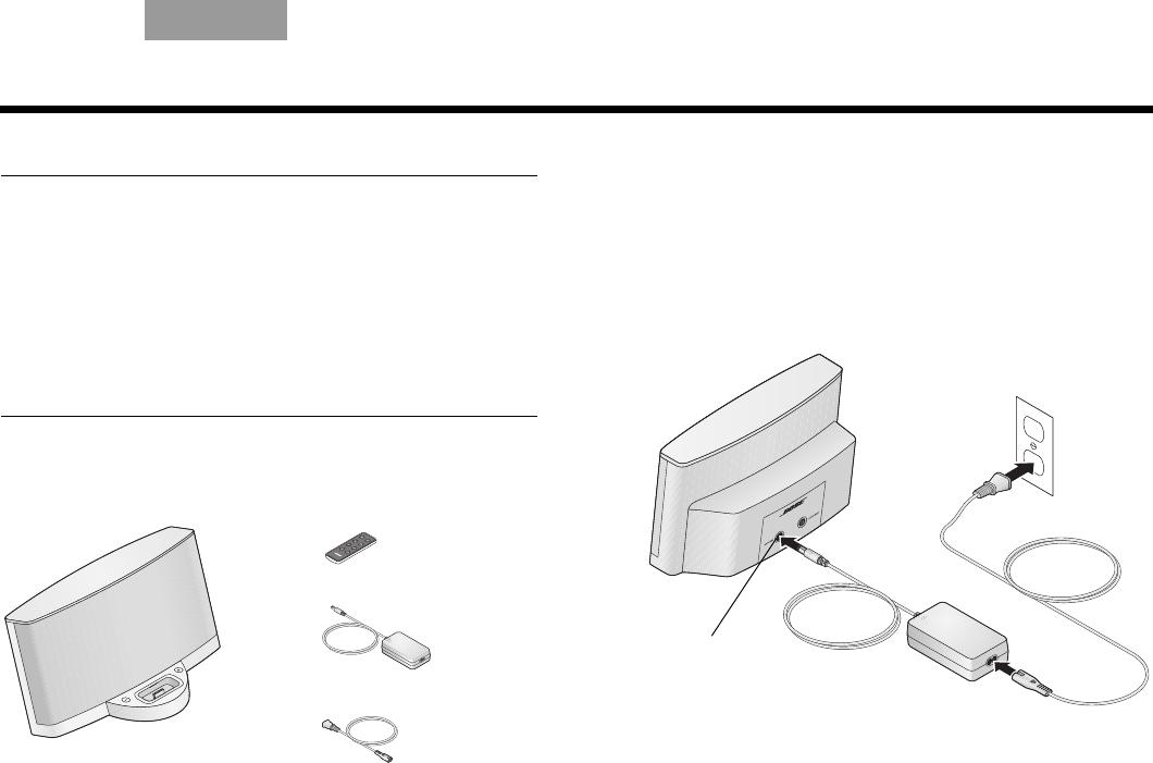 Handleiding Bose sounddock ii (pagina 1 van 12) (Nederlands)