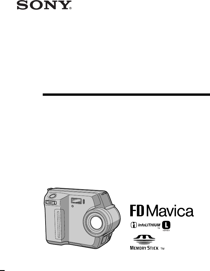 Handleiding Sony Mavica Mvc Fd200 Pagina 1 Van 100 English