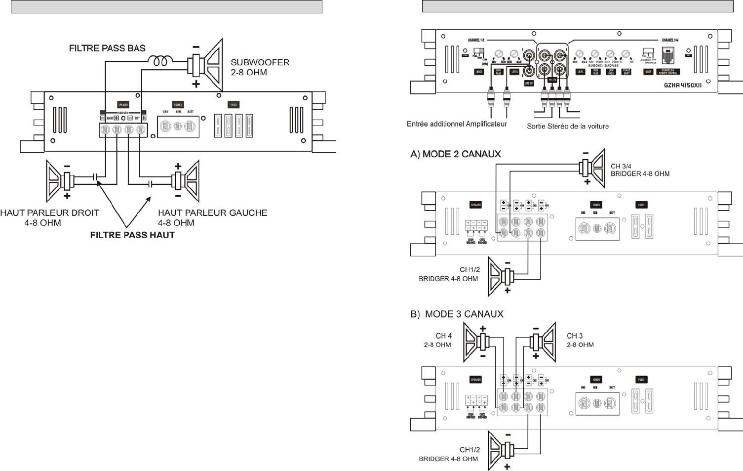 Handleiding Ground zero GZHA 2350 X (pagina 25 van 48) (Deutsch)