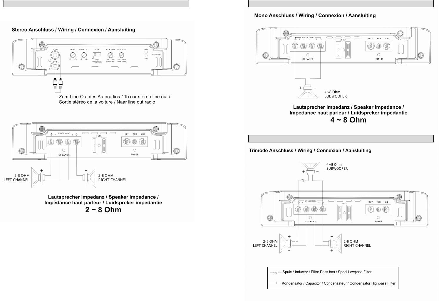 Handleiding Ground zero GZTA 2155X (pagina 13 van 44) (Deutsch)