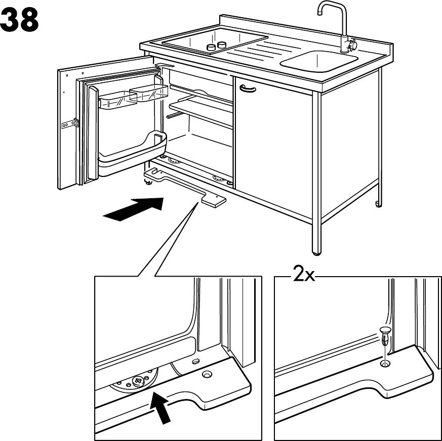 Keuken Gereedschap Ikea : Handleiding Ikea ATTITYD Kitchenette (pagina 34 van 36) (2,05 mb Dansk