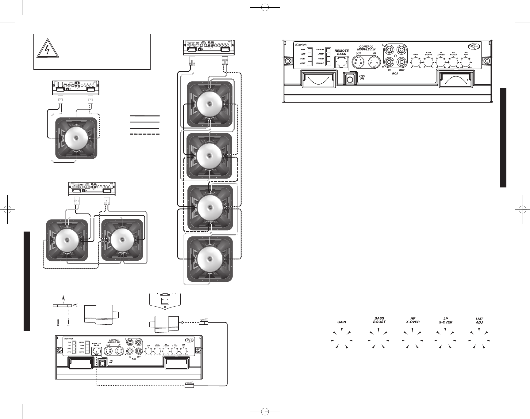 Handleiding Kicker WX10000.1 (pagina 9 van 20) (Deutsch, English ...