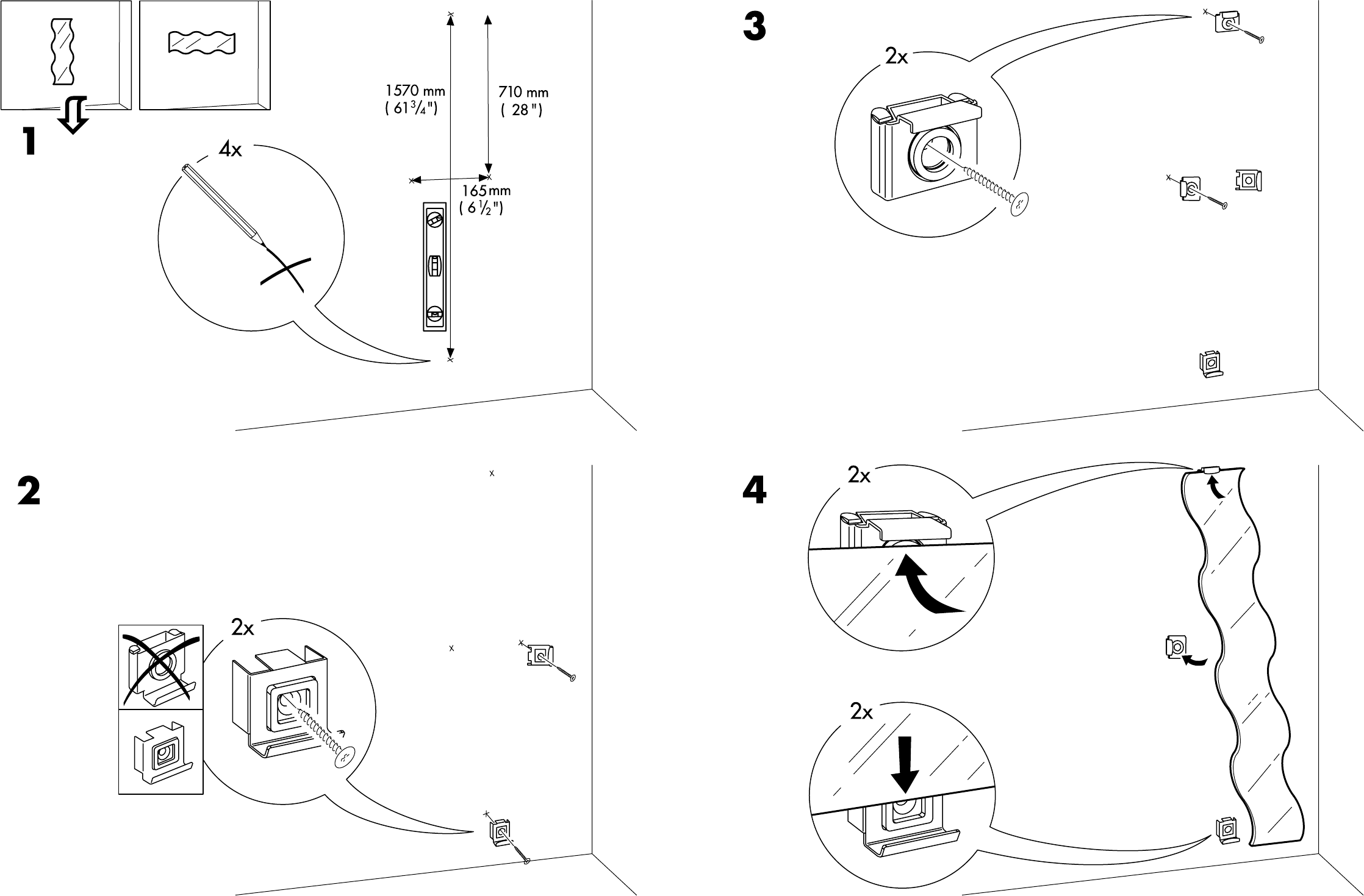 Ikea Spiegel Krabb Befestigung – Wohn-design