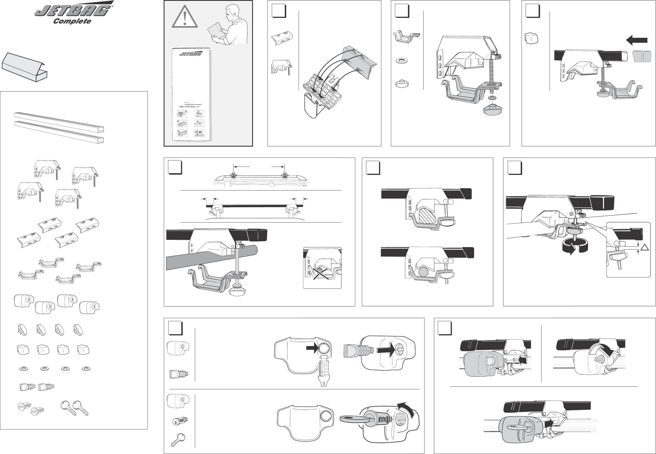 thule polar 100 fitting instructions