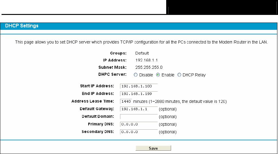 Handleiding TP-LINK TD-8840T (pagina 36 van 77) (English)