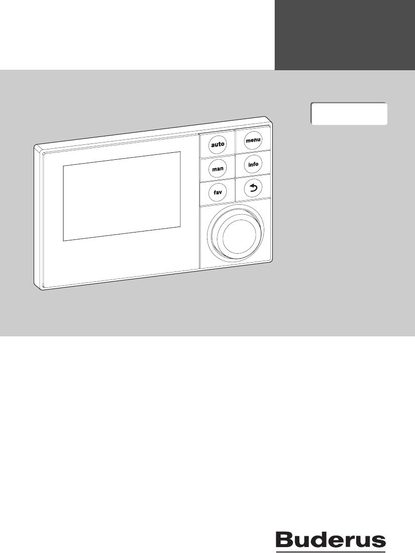Buderus logamatic erc bedienungsanleitung download