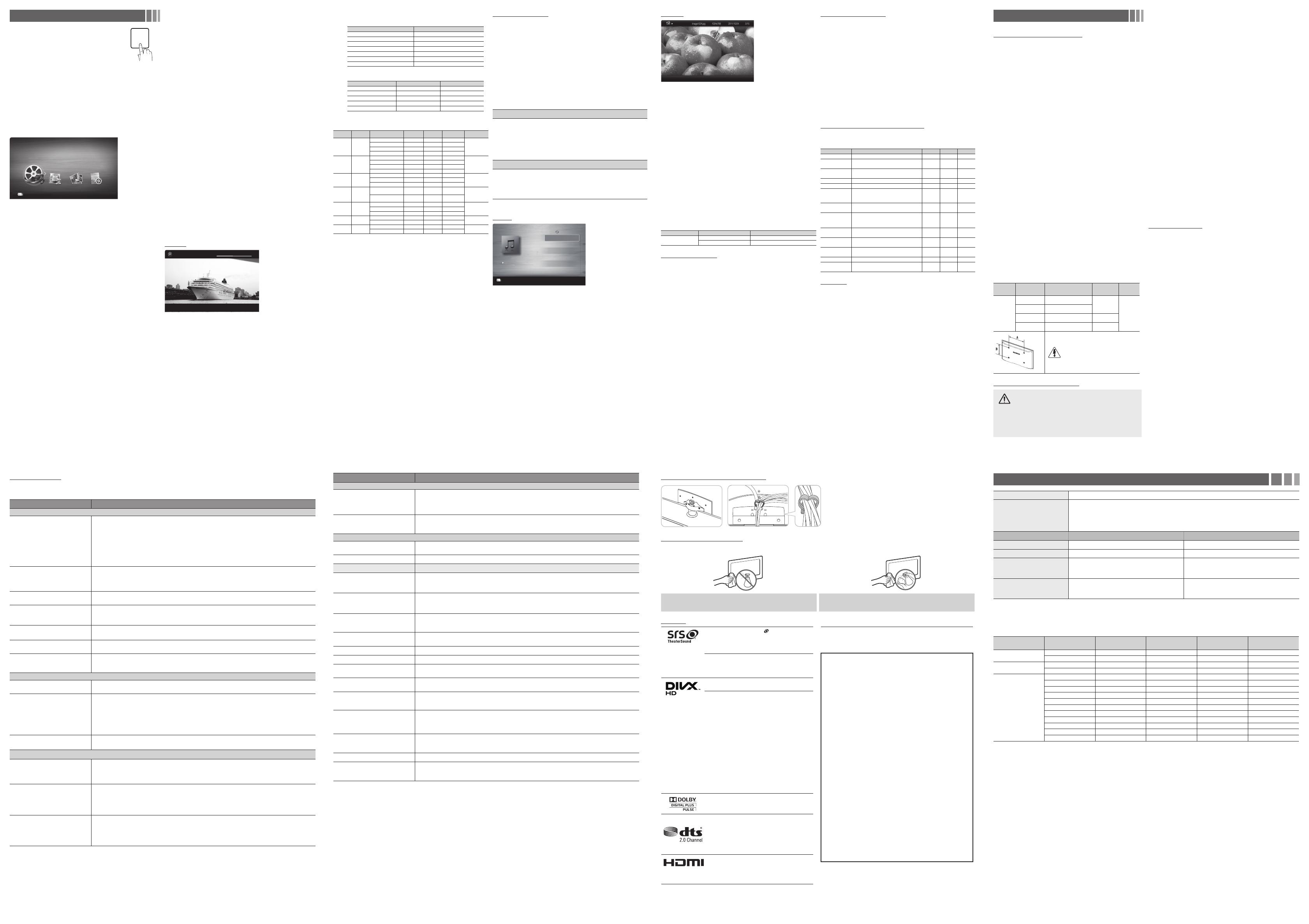 Handleiding Samsung UE32EH4003 (pagina 2 van 2) (English)