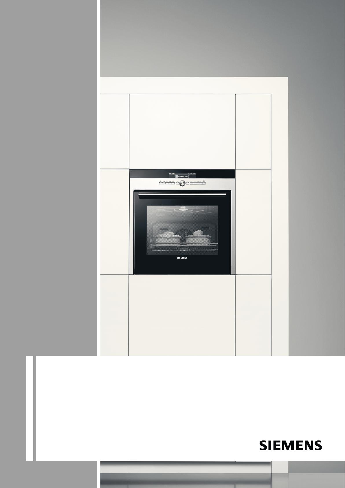 Siemens stoomoven gebruiksaanwijzing