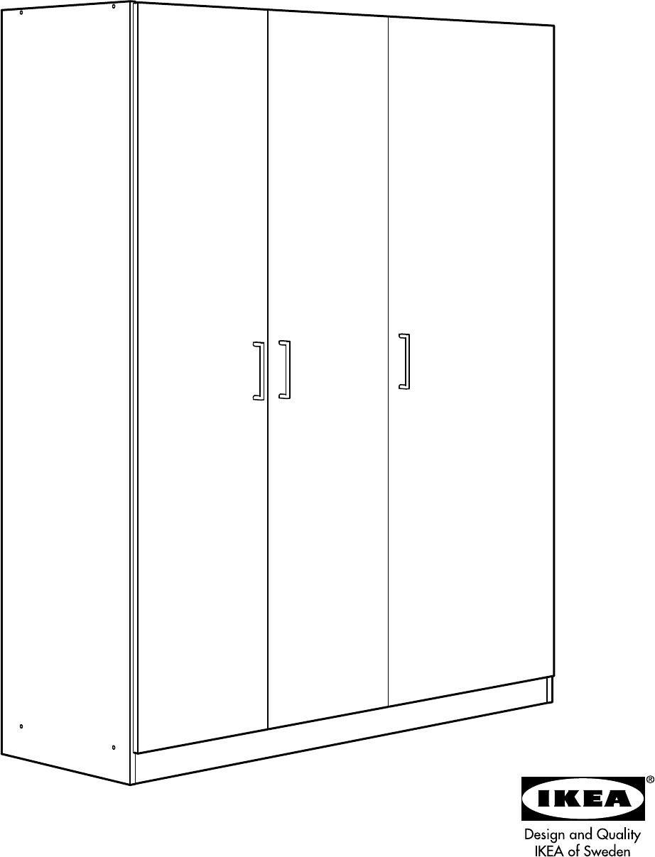 Handleiding Ikea Dombas Pagina 1 Van 24 Dansk Deutsch