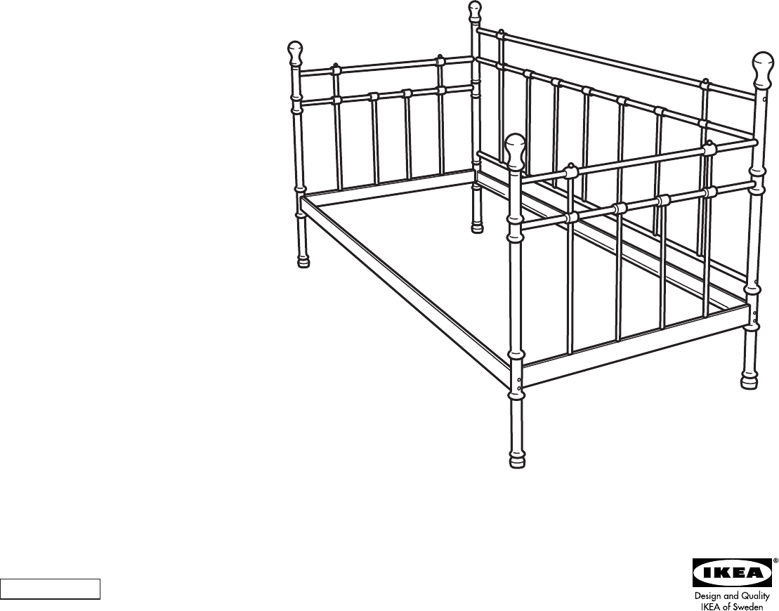 Verbazingwekkend Handleiding Ikea TROMSNES (pagina 1 van 4) (Dansk, Deutsch FR-49