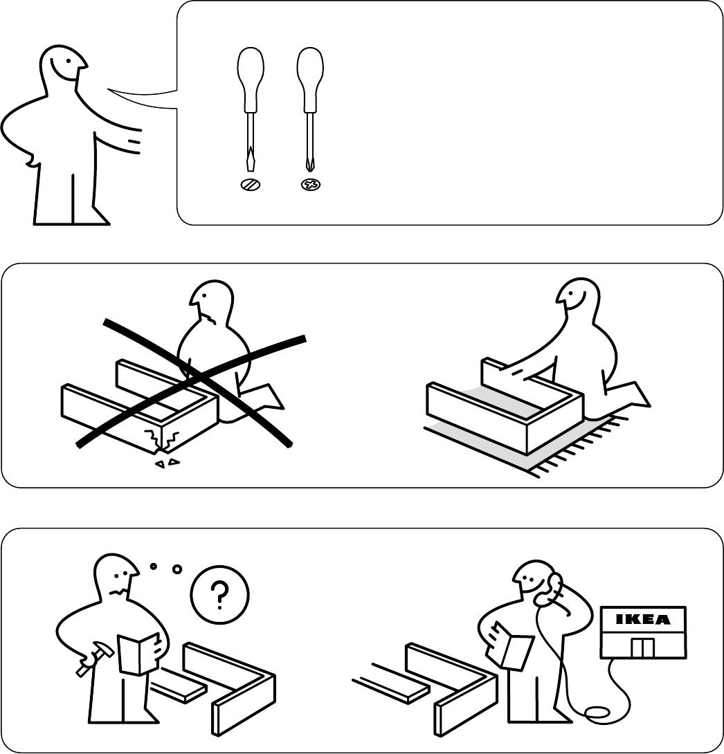 Ikea Mosjo Tv Meubel.Handleiding Ikea Mosjo Tv Meubel Pagina 2 Van 8 Alle Talen