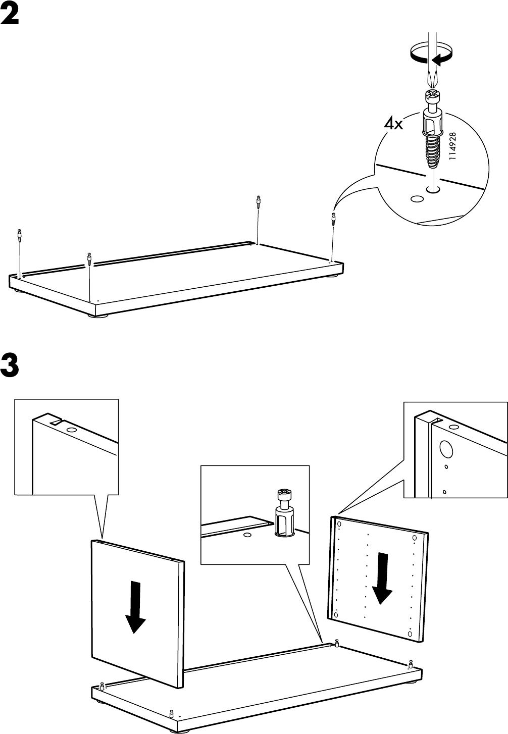 Ikea Mosjo Tv Meubel.Handleiding Ikea Mosjo Tv Meubel Pagina 4 Van 8 Alle Talen