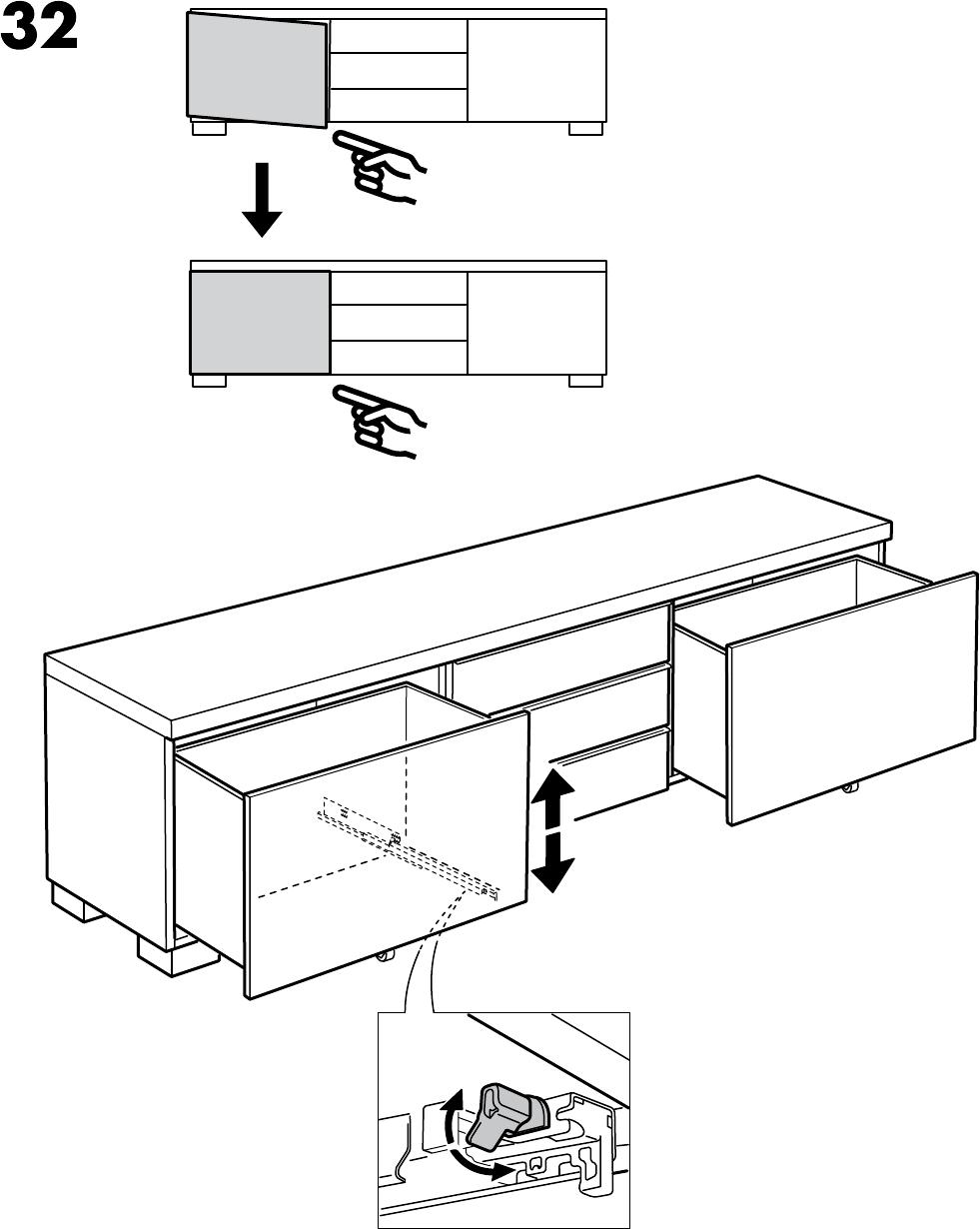 Ikea Besta Tv Meubel Kast.Handleiding Ikea Besta Burs Tv Meubel Pagina 20 Van 28 Alle Talen
