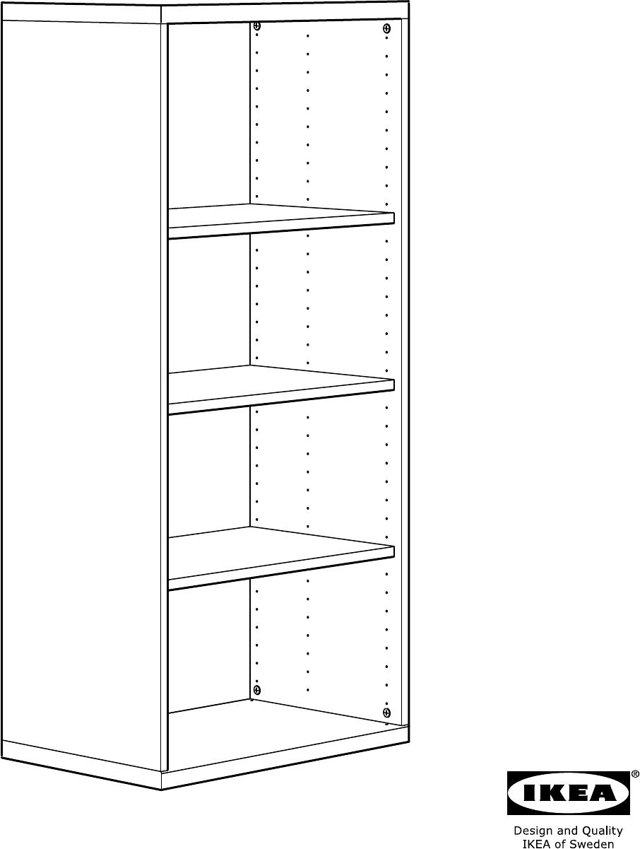 Handleiding Ikea Besta Open Kast Pagina 1 Van 20 Alle Talen