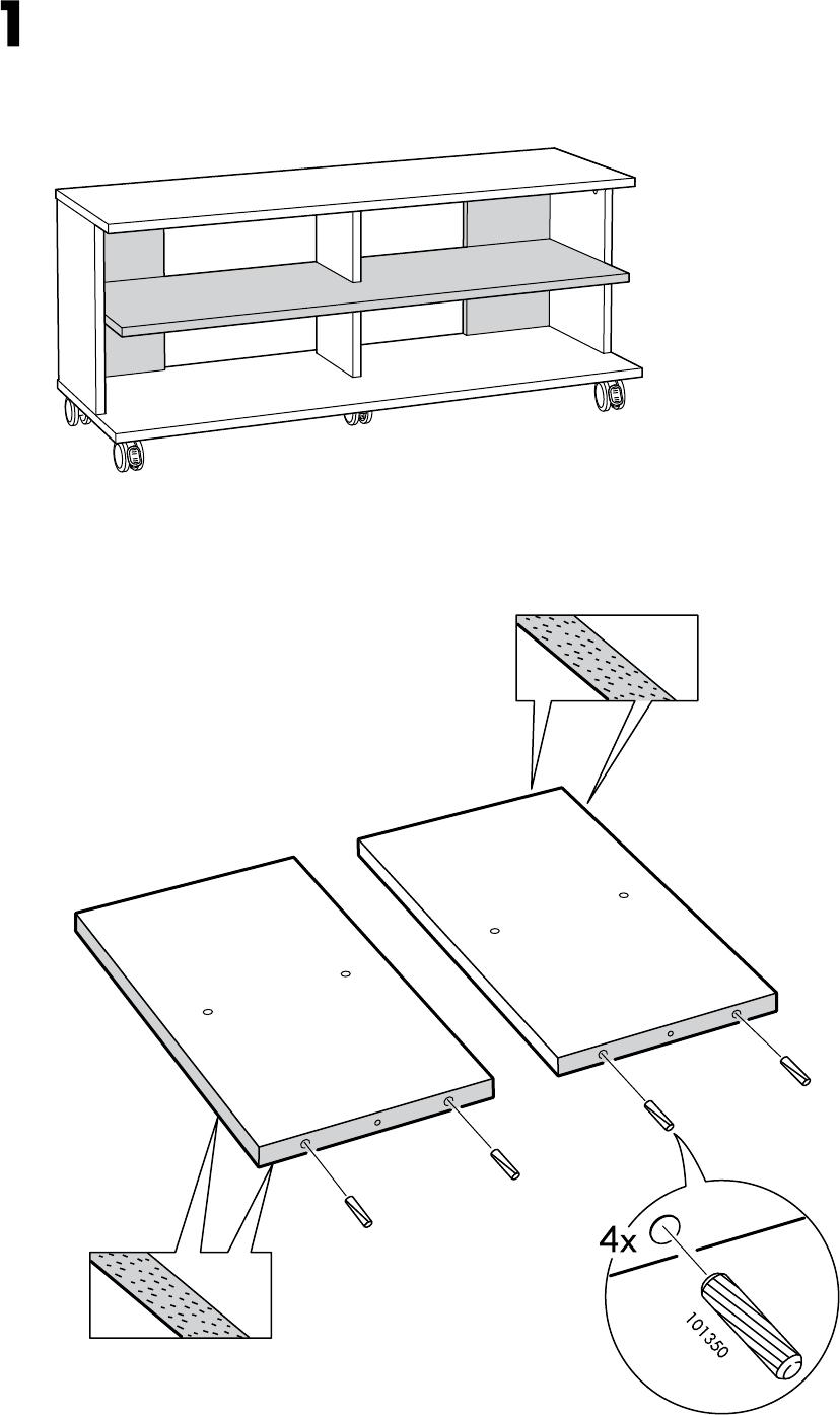 Benno Tv Meubel Ikea.Handleiding Ikea Benno Tv Meubel Op Wielen Pagina 4 Van 12 Alle
