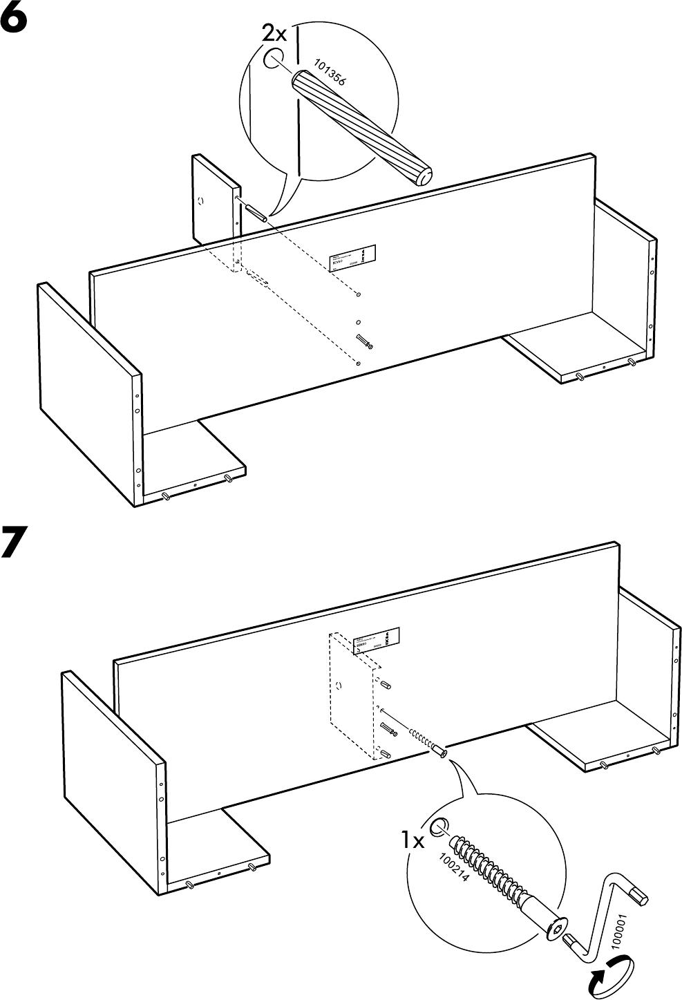 Benno Tv Meubel Ikea.Handleiding Ikea Benno Tv Meubel Op Wielen Pagina 7 Van 12 Alle