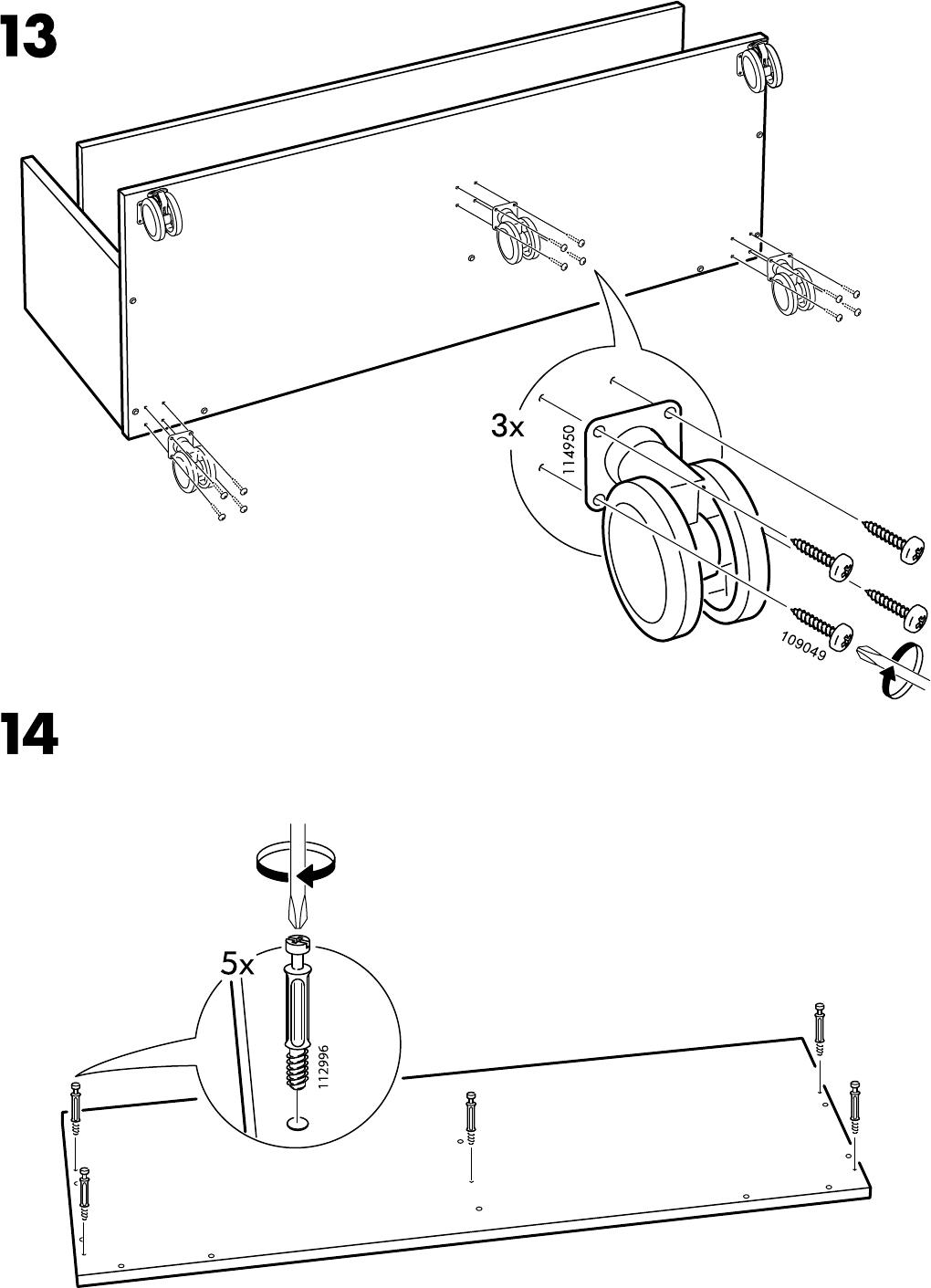 Benno Tv Meubel Ikea.Handleiding Ikea Benno Tv Meubel Op Wielen Pagina 12 Van 12