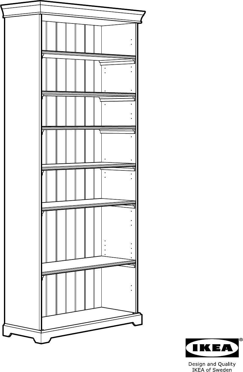 Ikea Boekenkast Kast.Handleiding Ikea Liatorp Boekenkast Pagina 1 Van 32 Alle