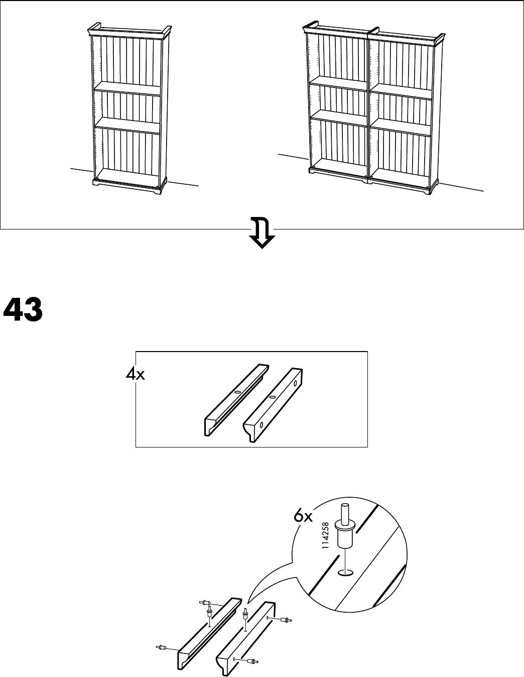 Handleiding Ikea LIATORP boekenkast (pagina 30 van 32) (Alle talen)