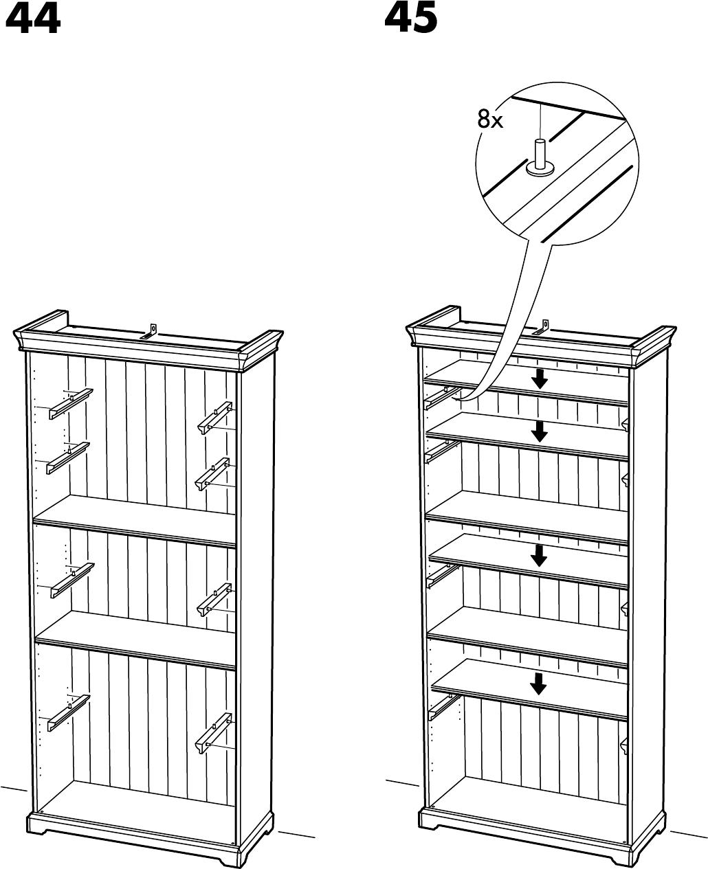 Handleiding Ikea LIATORP boekenkast (pagina 31 van 32) (Alle talen)