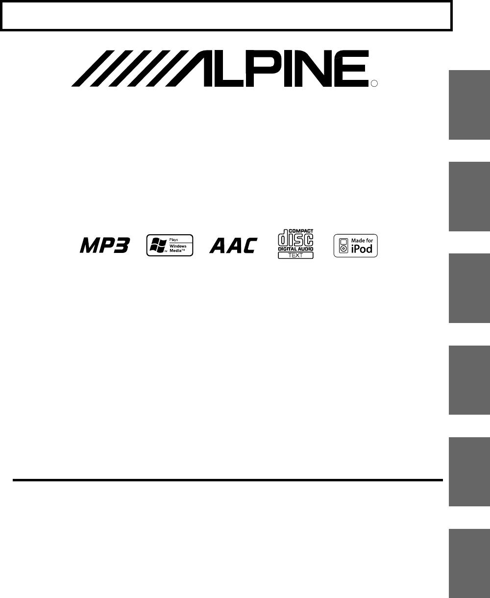 Handleiding Alpine CDE-9881RB (pagina 30 van 38) (Deutsch)