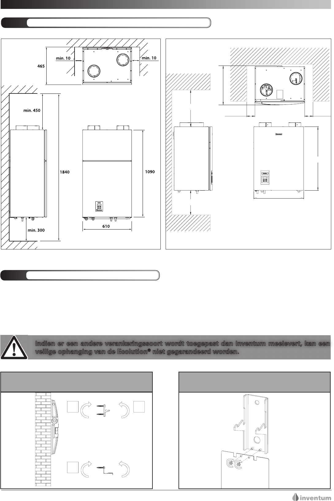 handleiding inventum ecolution combi 50  pagina 19 van 53