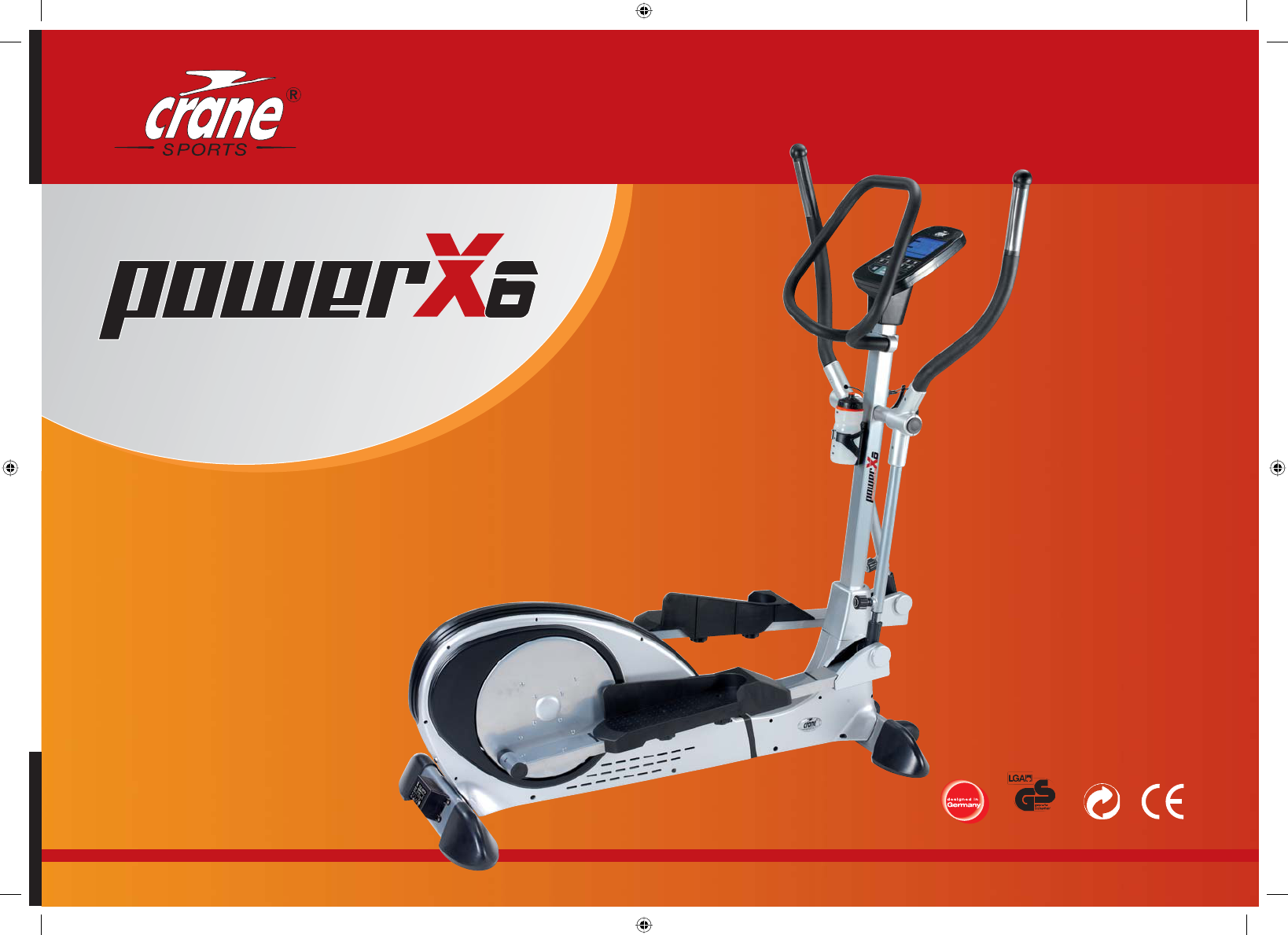 Crane Sports Cross 7 Ergometer Manual Transmission - safetypoks