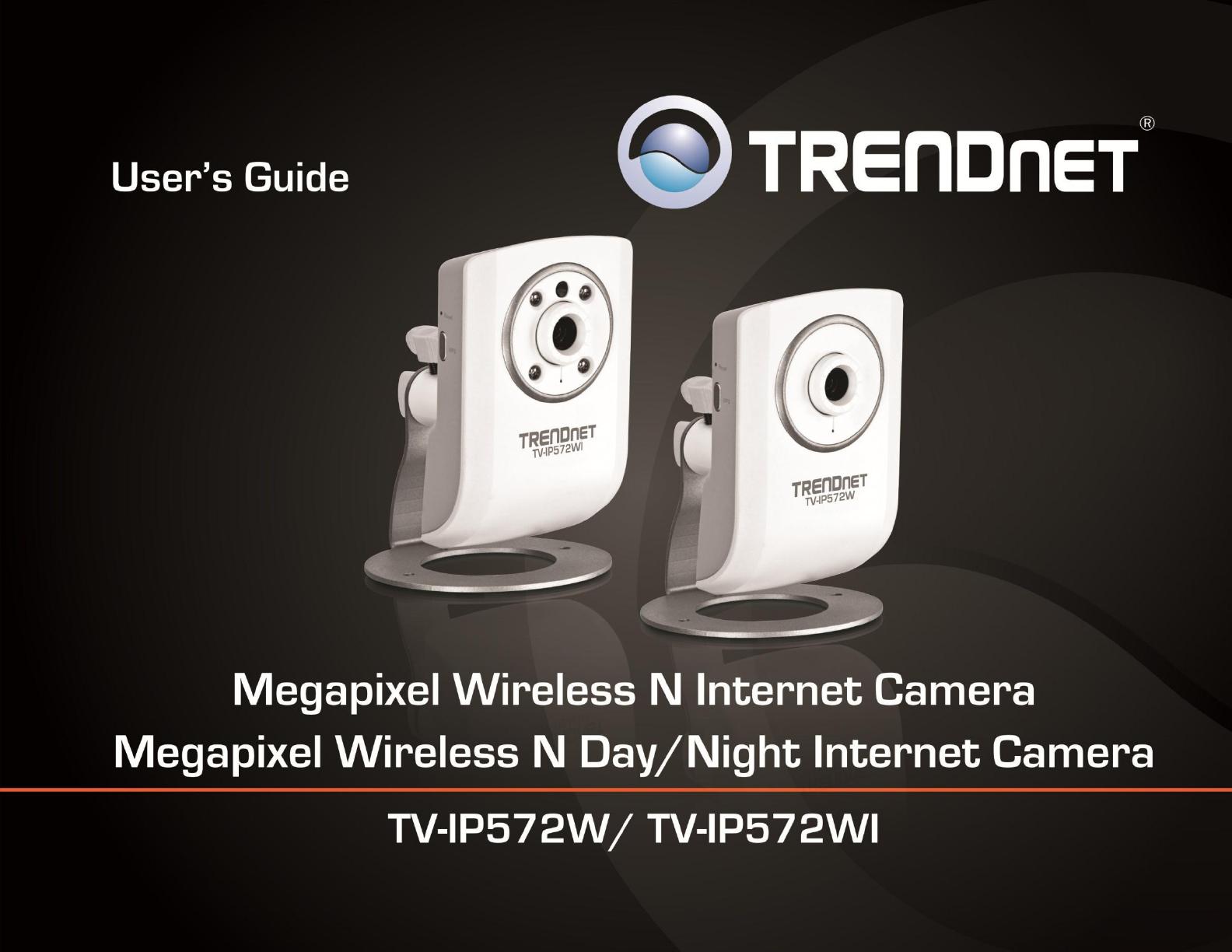 Handleiding Trendnet TV-IP572W (pagina 1 van 43) (English)