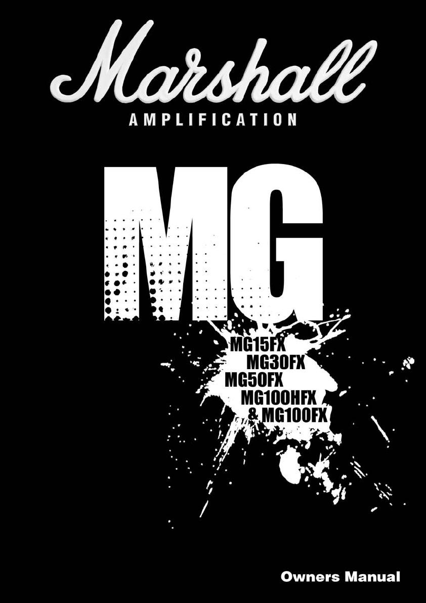 Handleiding Marshall New Mg Series Exc Mg10 Mg15 Pagina 5 Van 7 Cab Wiring Diagram