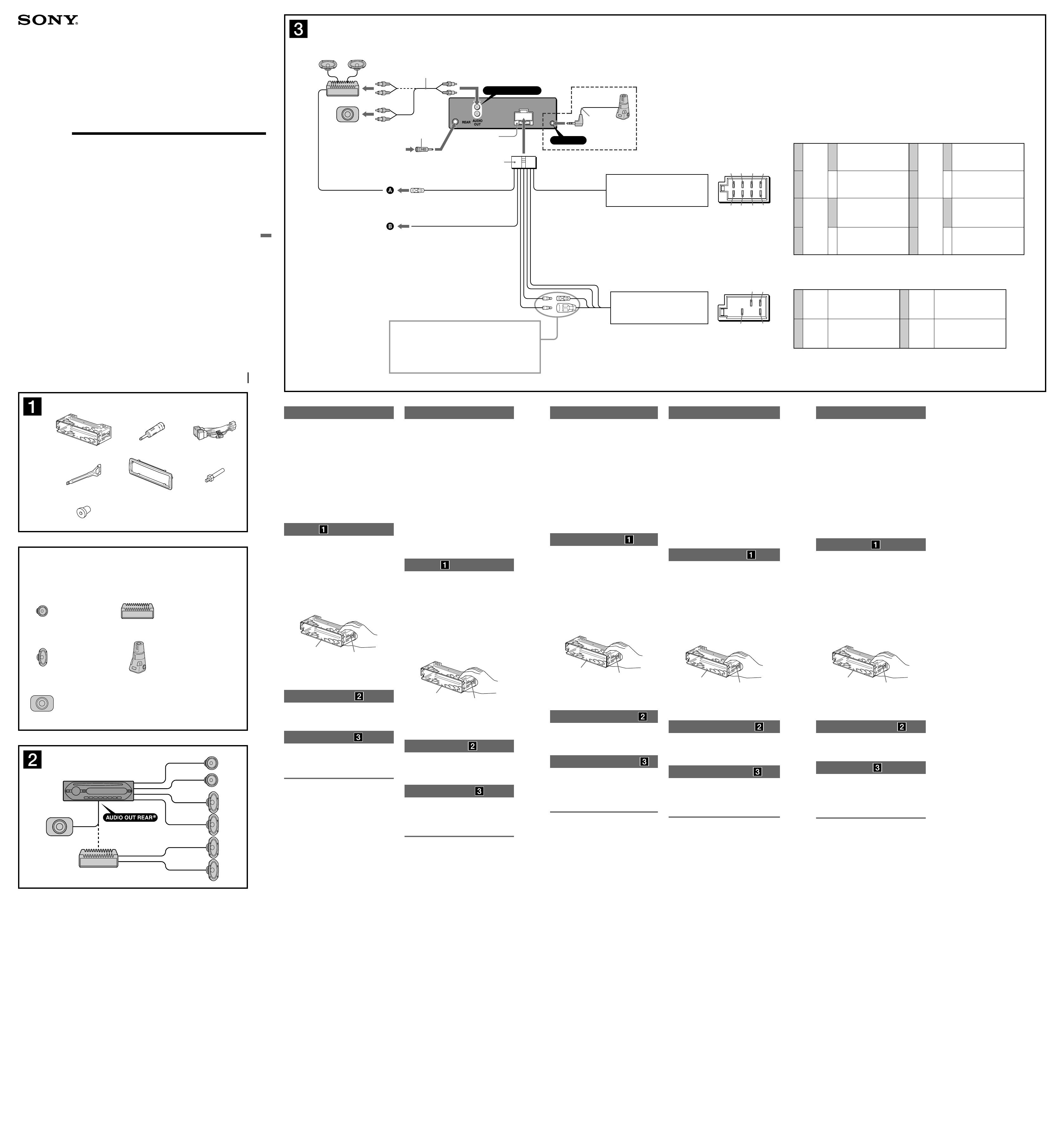 Ziemlich Sony Cdx Gt200 Schaltplan Fotos - Der Schaltplan - greigo.com