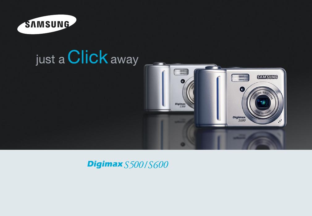 Handleiding Samsung Digimax S500 (pagina 1 van 78) (English)