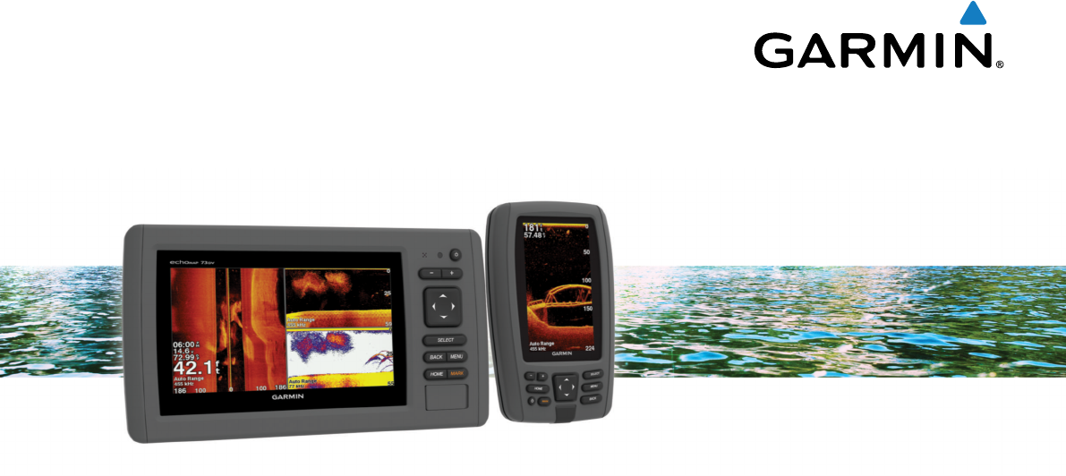 Handleiding Garmin echoMAP 70dv (pagina 1 van 30) (English) on
