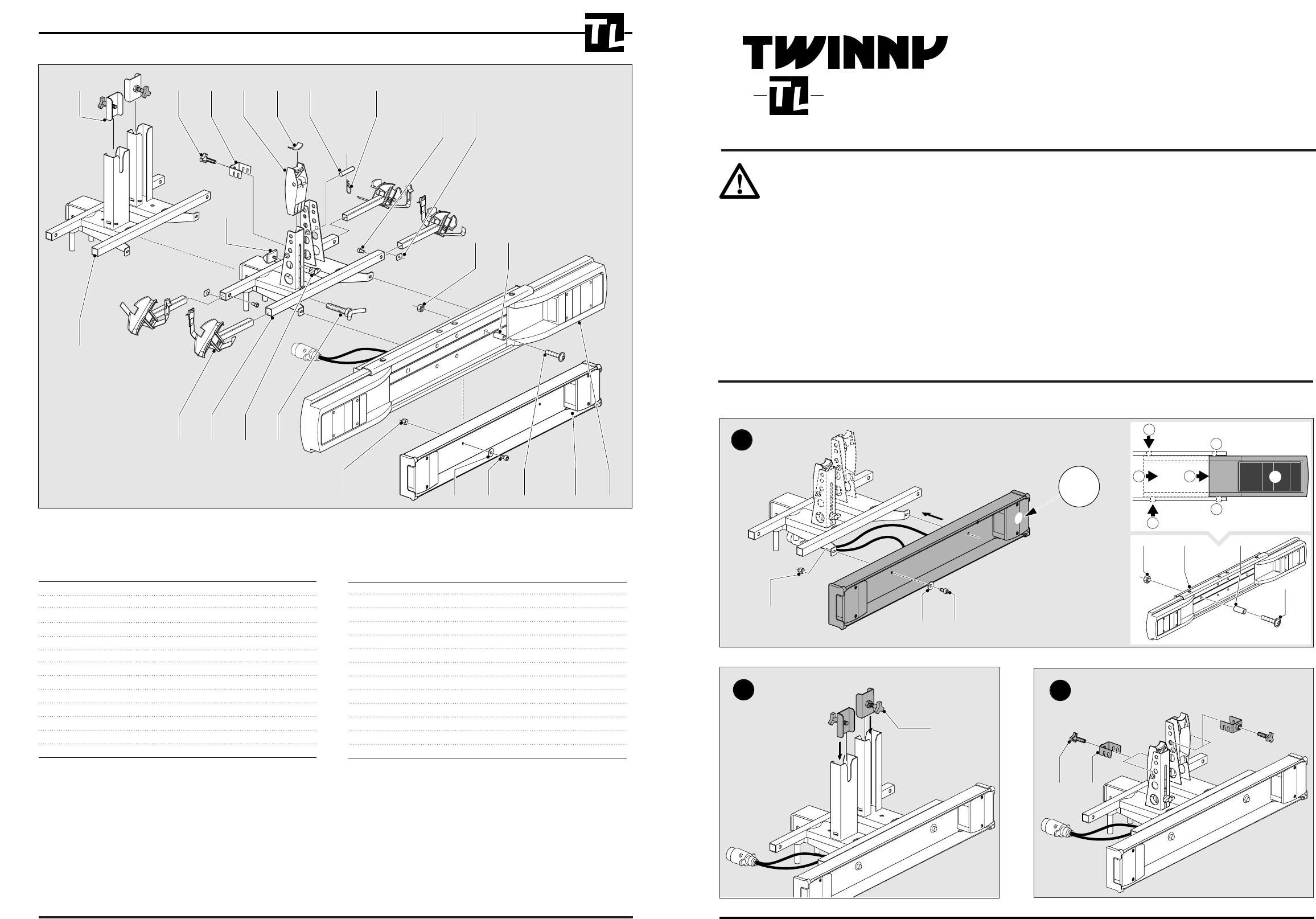 Verrassend Handleiding Twinny Load Basis (pagina 1 van 2) (Nederlands) GO-56