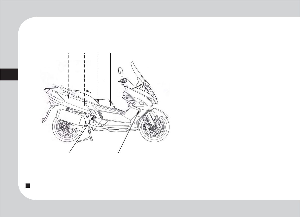 Handleiding Kymco Myroad 700i Pagina 12 Van 63 English Engine Diagram