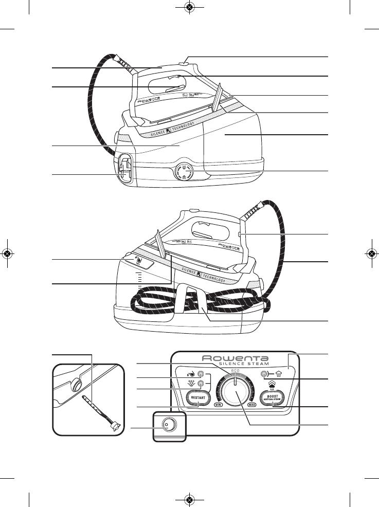 Handleiding Rowenta Dg8960 Silence Steam Pagina 73 Van 196 Alle