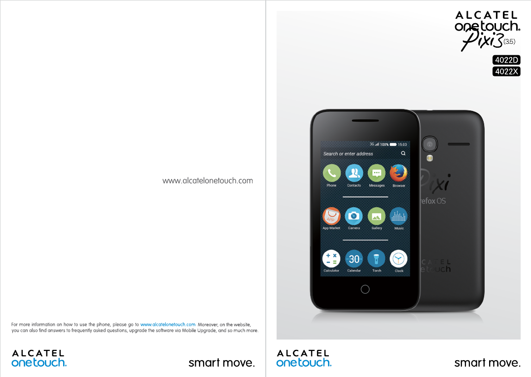 Handleiding Alcatel One Touch Pixi 3 - 4022D (pagina 1 van 40) (English)